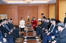 La présidente de l'AN loue les contributions des intellectuels d'amitié Vietnam-R. de Corée
