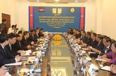 Une délégation de la Commission centrale du contrôle du Parti en visite au Cambodge