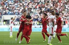 Asian Cup 2019 : le Vietnam bat la Jordanie pour se qualifier en quarts de finale