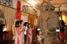 Exposition artistique sur le bouddhisme à Ho Chi Minh-Ville