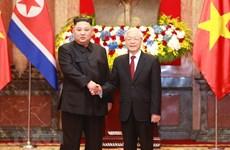 Le président Kim Jong-un en visite d'amitié officielle au Vietnam