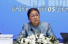 La présidente de l'AN du Laos se rend au groupe vietnamien Vingroup
