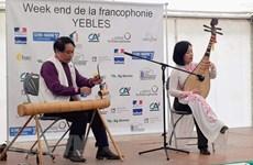 Francophonie : promotion de la culture vietnamienne à Yèbles (France)