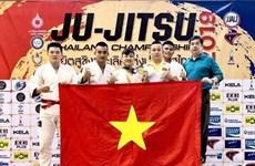 Le Vietnam remporte une médaille d'or en Jiu-Jitsu en Thaïlande