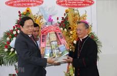 Pâques : le président du FPV présente ses vœux aux catholiques de Binh Thuan