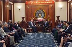 Efforts visant à promouvoir les relations Vietnam - Etats-Unis