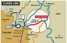 Ouverture de la nouvelle route reliant la frontière thaïlandaise à Luang Prabang (Laos)