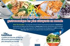 Hanoï parmi les lieux de découverte gastronomique les plus attrayants au monde