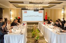 La 22e consultation diplomatique entre les Philippines et la Chine