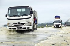 Inondations au Myanmar : plus de 9.000 personnes évacuées