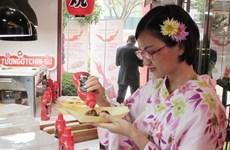 La sauce pimentée de marque Chinsu est exportée au Japon