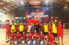 Mondial de plumfoot 2019 : deux médailles d'or pour le Vietnam