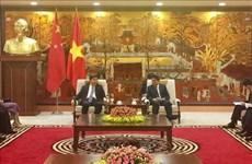 Hanoï booste sa coopération avec la province chinoise du Guangdong