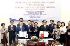 Le Vietnam et la République de Corée coopèrent dans la sécurité sociale