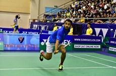 Des joueurs étrangers dominent le tournoi international de badminton élargi du Vietnam 2019