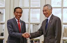 Singapour et l'Indonésie atteignent un cadre sur l'espace aérien et l'entraînement militaire