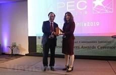 Prix des bonnes pratiques de l'APEC : un Vietnamien à l'honneur