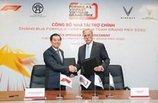 F1 : VinFast devient le sponsor officiel du Grand Prix du Vietnam