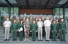 Maintien de la paix : Coopération renforcée entre le Vietnam et la France