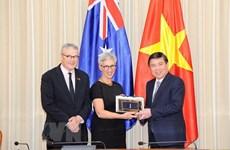 L'Etat australien de Victoria ouvrira un bureau de commerce et d'investissement à Ho Chi Minh-Ville