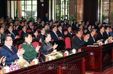 Cérémonie marquant la Journée des soldats volontaires et experts vietnamiens au Laos