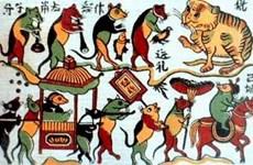 Exposition sur les estampes populaires de Dông Hô d'hier et d'aujourd'hui