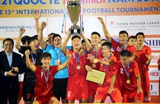 Le Vietnam continue de devenir le champion du tournoi U21 du journal Thanh Nien 2019
