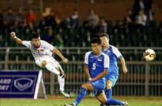 Championnat d'Asie de football U19 : le Vietnam bat la Mongolie 3 à 0