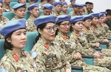 Des femmes médecins vietnamiennes pour la paix au Soudan du Sud