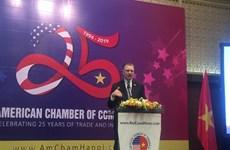 L'AmCham s'engage à servir de passerelle reliant les entreprises américaines au Vietnam