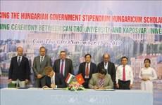 Can Tho et l'Hongrie promeuvent leur coopération dans l'éducation