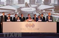 Lancement du Centre de commerce mondial de Binh Duong