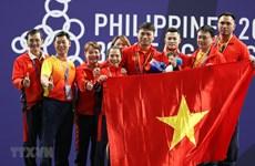 SEA Games 30 : le Premier ministre adresse ses félicitations à la délégation vietnamienne