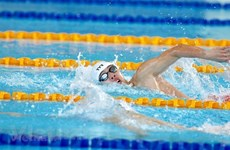 Natation : le Vietnamien Nguyen Huy Hoang bat le record des SEA Games