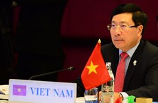 Le vice-PM et ministre des AE Pham Binh Minh participera à la réunion des ministres des AE de l'ASEM