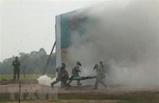 Exercice conjoint de recherche et de sauvetage entre le Vietnam et le Cambodge