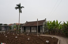 La maison de Ba Kien dans le village de Vu Dai