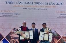 Remise des prix du concours de photos sur le patrimoine du Vietnam 2019