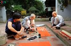 Restaurer les estampes de Kim Hoàng