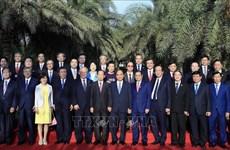 Le PM Nguyen Xuan Phuc reçoit le secrétaire général Parti libéral-démocrate japonais