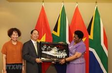 L'Afrique du Sud considère le Vietnam comme l'un des principaux partenaires en Asie du Sud-Est