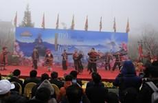 """Le festival de l'ouverture de la porte du Ciel du Fansipan et la fête du """"khen"""" et des fleurs 2020"""