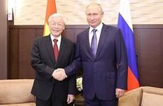 Vietnam-Russie: Messages de félicitations pour les 70 ans de l'établissement des liens diplomatiques