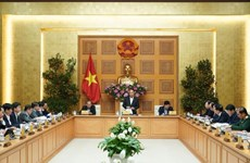 Le chef du gouvernement demande de combattre le COVID-19 et stimuler la croissance