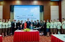 Bamboo Airways et Vinpearl coopèrent pour développer des produits touristiques et aériens
