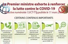 Le Premier ministre exhorte à renforcer la lutte contre le COVID-19