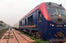 Transport ferroviaire de fruits frais exportés en conteneurs frigorifiques vers la Chine  