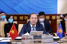 L'ASEAN et les Etats-Unis coopèrent pour faire face à l'épidémie de COVID-19