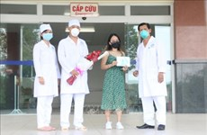 COVID-19: guérison de 95 cas d'infection au Vietnam