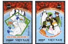 COVID-19 : des peintres vietnamiens et leurs affiches sur un journal britannique  